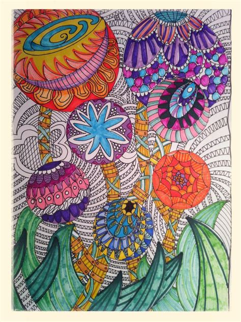 flower doodle quilt kit 32 best zentangle quilting images on longarm