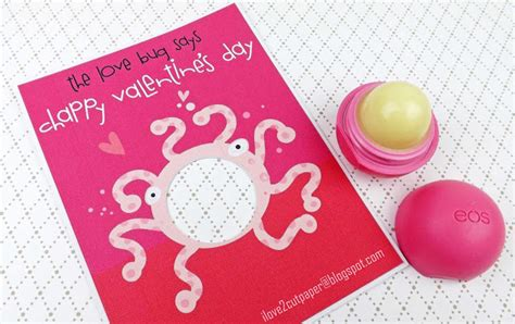 Lip Balm Card Holder Template by I 2 Cut Paper Bug Lip Balm Holders
