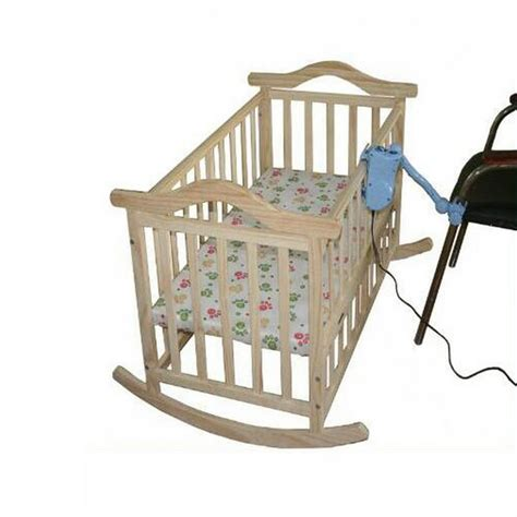 Rocking Baby Cribs by No Radiation Electric Rocking Baby Cradle Baby Swing Pine