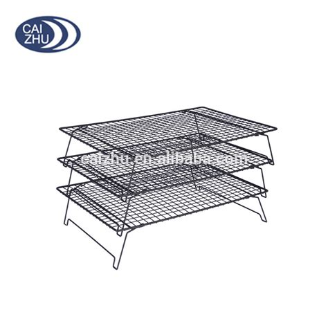 Wire Cooling Racks Baking by Top Quality 3 Tiers Stackable Wire Cake Baking Rack