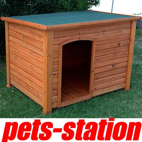 Cabin Kennel by X Large Timber Log Cabin Kennel Wood House