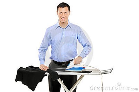 No Water In Kitchen Faucet happy young man ironing his clothes stock image image