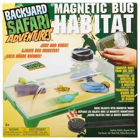 backyard safari bug habitat backyard safari magnetic bug habitat habitats amazon canada