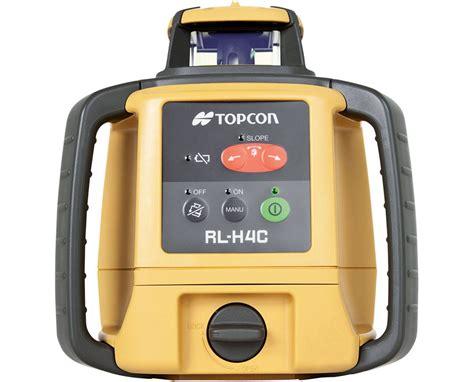 Topcon Rotating Laser Level Rl H4c topcon rl h4c self leveling rotary laser excavating match slopes tiger supplies