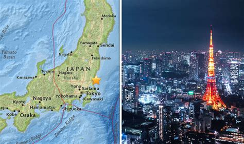 earthquake tokyo tokyo hit by 5 3 magnitude earthquake as buildings shake