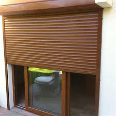 persianas exteriores foto persiana exterior color madera de euroroller 114933