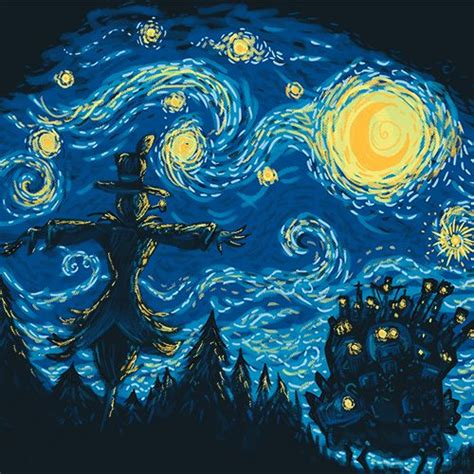 van gogh wallpaper for mac starry night vincent van gogh howl s moving castle