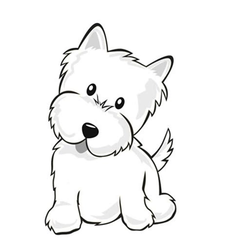 cute puppy coloring pages getcoloringpagescom
