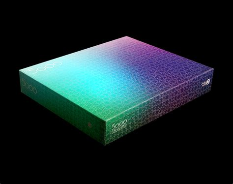 cmyk puzzle 5000 a giant new 5 000 piece cmyk color gamut jigsaw puzzle by