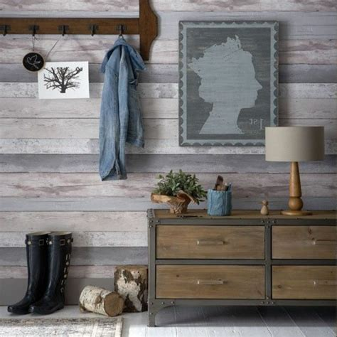 Tapeten Flur Ideen by Tapete In Holzoptik 24 Effektvolle Wandgestaltungsideen