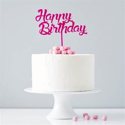 personalised birthday cake topper by sophia victoria joy   notonthehighstreet.com