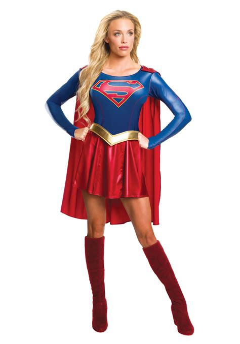 womens costumes supergirl tv costume for