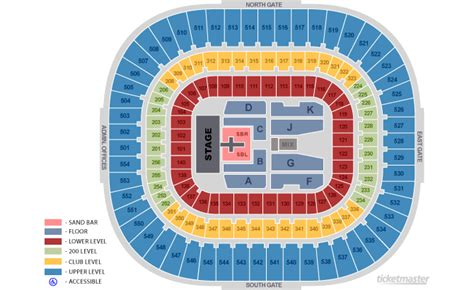 bank of america stadium seating bank of america stadium nc seating chart view
