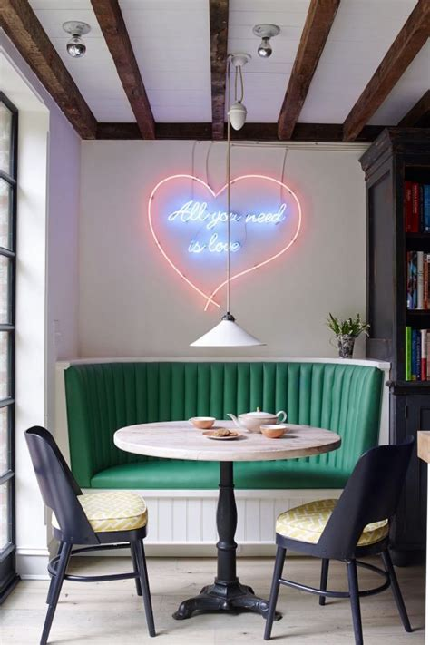 Dining Room Decor Signs Neon Sign Wall Decor Home Design
