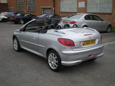 peugeot 206 convertible peugeot 206 cc convertible coupe 2005 for sale gloucester