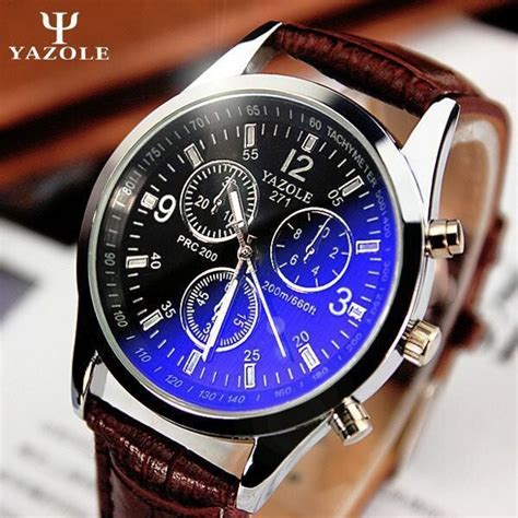 Jam Tangan Yazole Fashion S Leather Stainless Steel Sp aliexpress buy new listing yazole luxury