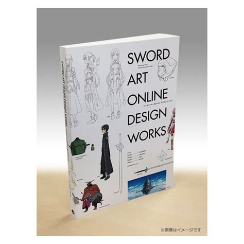 design online book art book sword art online design works import from japan