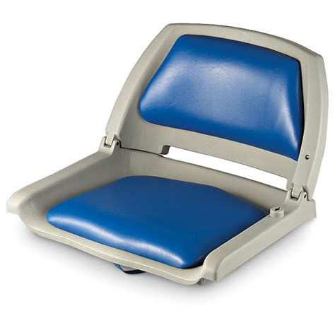 portable folding boat seat action padded folding boat seat 178928 fold down seats