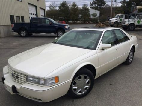 White 1995 Cadillac Seville Sts Find Used 1995 Cadillac Sts 4 6l 45k White