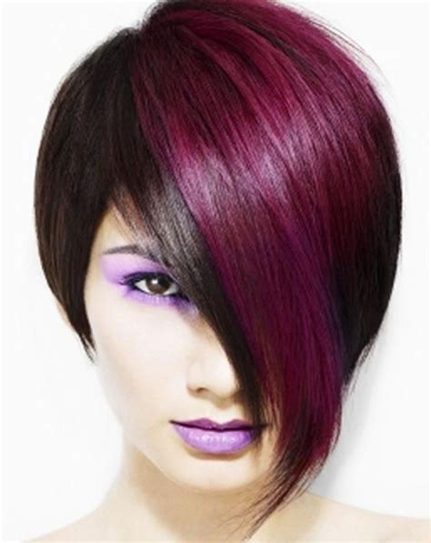edgy highlights for brown hair hairstyles with red highlights short edgy hairstyles