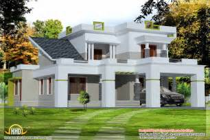 Modern House Plans 2013 contemporary india home elevation 2850 sq ft