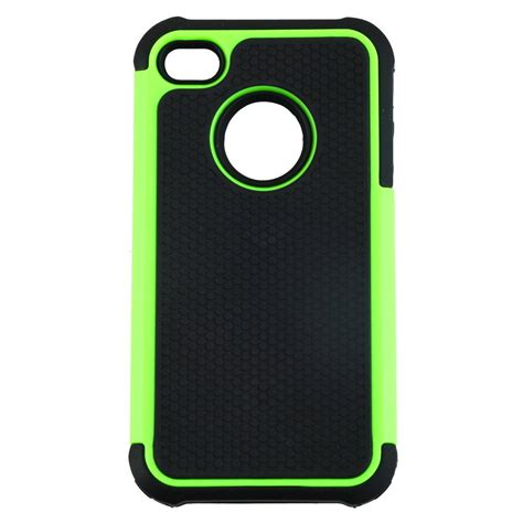 iphone 4 rugged for iphone 4 4s black rugged rubber matte cover w screen protect zd ebay