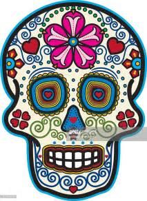Day Of The Dead Sugar Skull Vector Art Getty Images Day Of The Dead Skull Vector