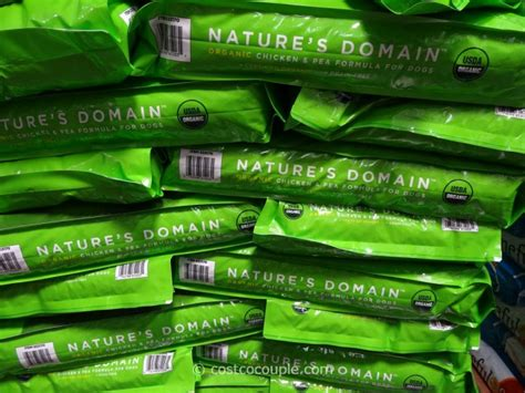 nature s domain puppy chicken pea formula nature s domain organic food