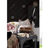 Scary Jack The Ripper Style Crime Scene Stock Image