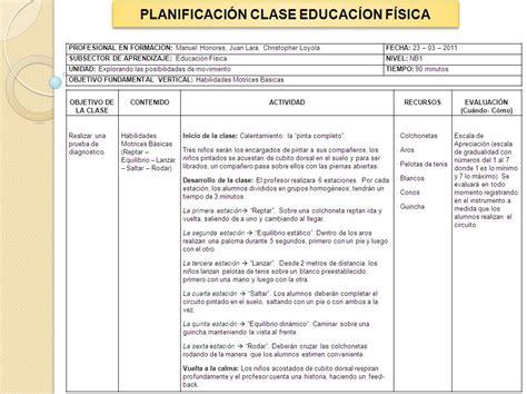 planificaciones educacin primaria educaci 243 n f 237 sica l 250 dica planificacion clase nb1