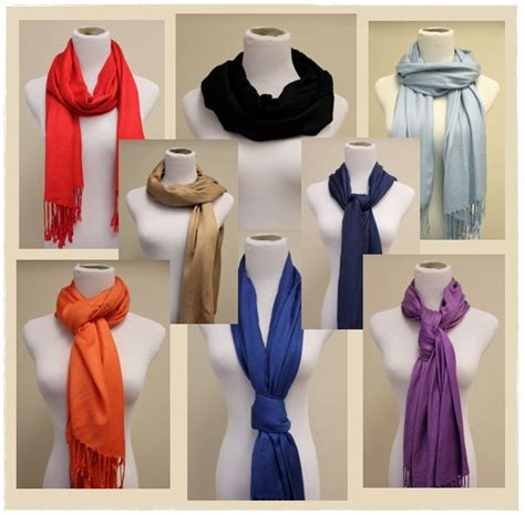 7 Ways To Tie A Scarf Or Pashmina by 1000 Ideas About Pashmina Scarf On