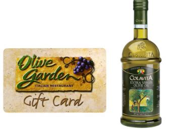 Olive Garden Sweepstakes - olive garden s taste of tuscany sweepstakes chance to instantly win 20 gift card and