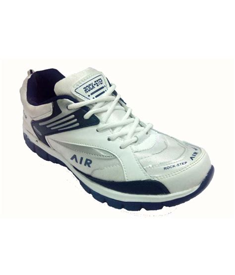 rock sport shoes rock step white sport shoes price in india buy rock step
