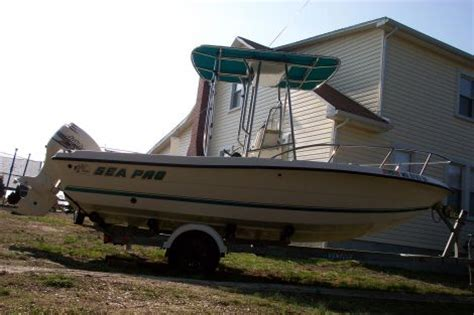 used boats for sale in manassas va 2001 sea pro 18 quot center console fishing boat for sale in