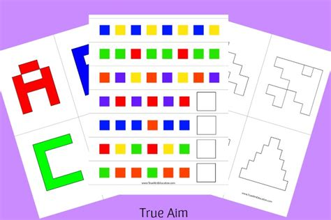 printable alphabet puzzle cards free alphabet pattern and shape cube puzzle printables