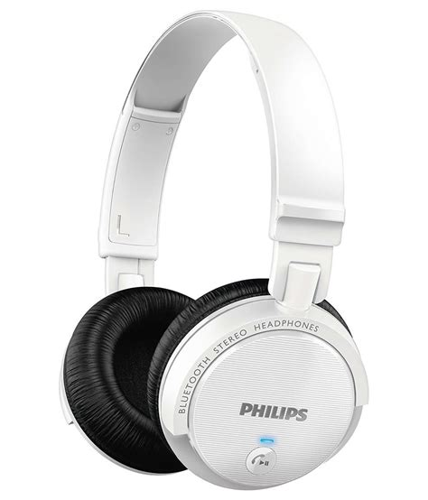 Philips She3705 Stereo Earphone With Mic Headset Headphone She 3705 buy philips shb5500wt 00 on ear bluetooth stereo headset