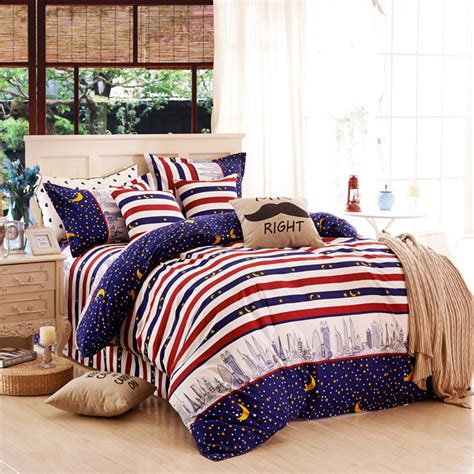 sky bedding aliexpress com buy 2016 new arrival urban night sky 4 piece bedding set bed sheet