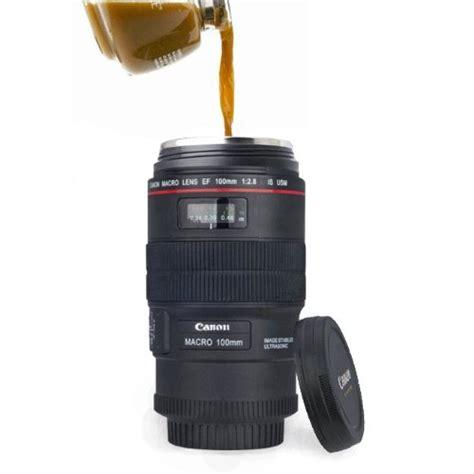 Canon Lens Cup Mug Lensa Canon canon lens cup ef macro 100mm thermos travel tea coffee mug cup w pouch ebay