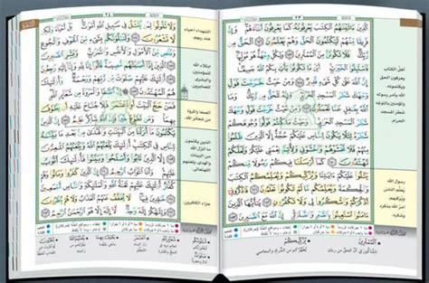 Qur An Tajwid Warna Mushaf Tajwid Warna bacaan islam al qur an mushaf tajwid warna