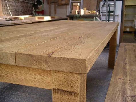 Plank Table by Rustic Plank Tables By Henderson Furniture Brighton Uk