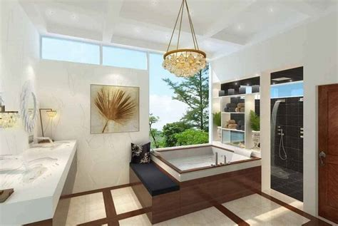 koleksi desain kamar mandi mewah desain kamar mandi