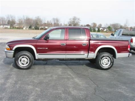 2000 dodge dakota 4 door buy used 2000 dodge dakota slt crew cab 4 door 5 9l