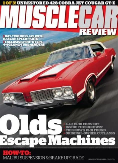 Muscle Car Review Magazine Subscriptions   Renewals   Gifts