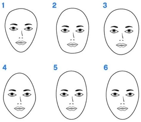 head shapes and hairstyles face shapes women hairstyles