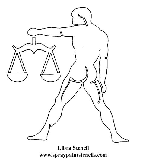 printable zodiac stencils libra zodiac colouring pages