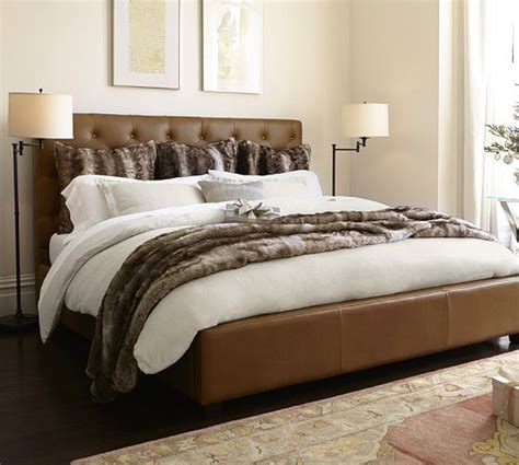 best 25 leather bed ideas on leather