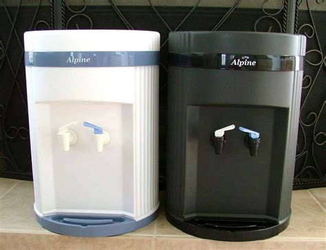 Table Top Water Cooler by Water Products Water Filtration Alpine Water