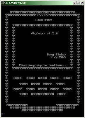 reset blackberry jl cmder jl cmder