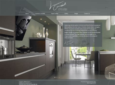 kitchen design websites website design laurence cbell kitchens pure