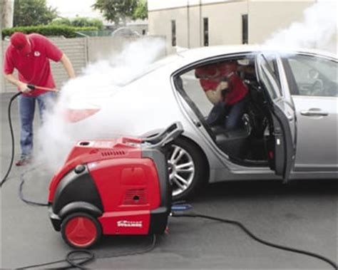 car detailing steamer mobile steam car wash how does it work